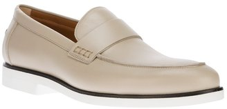 Fendi bi-colour loafer