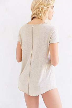 Truly Madly Deeply Inside-Out Scoopneck Tee