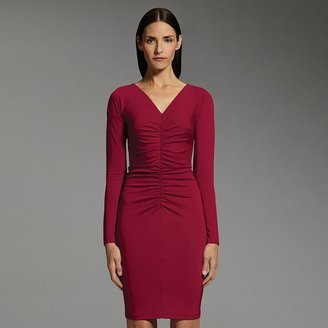 Narciso Rodriguez for designation ruched sheath dress
