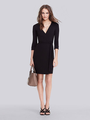 New Julian Two Mini Jersey Wrap Dress $285 thestylecure.com