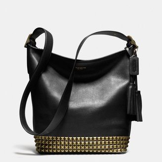 Coach Legacy Duffle In Studded Leather