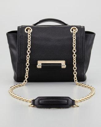 Diane von Furstenberg 440 Mini Flap-Top Crossbody Bag, Black