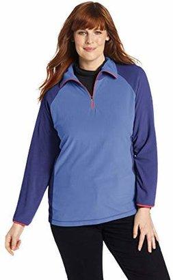 Columbia Women's plus-size Glacial Fleece III 1/2 Zip Plus