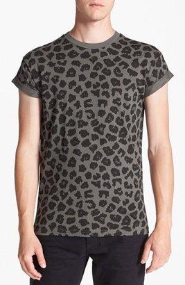 Topman Leopard Print T-Shirt