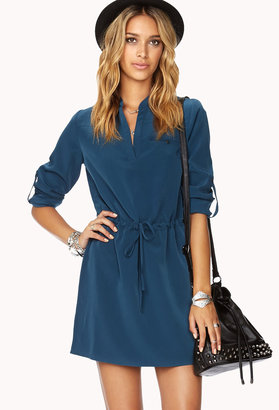 Forever 21 Essential Drawstring Shift Dress