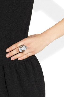 Amedeo Sardonyx, gold and diamond elephant cameo ring