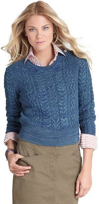 Brooks Brothers Cotton Crewneck Sweater
