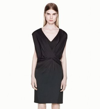 Helmut Lang Coma Sheen Dress