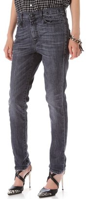 R 13 Slouchy Skinny Jeans