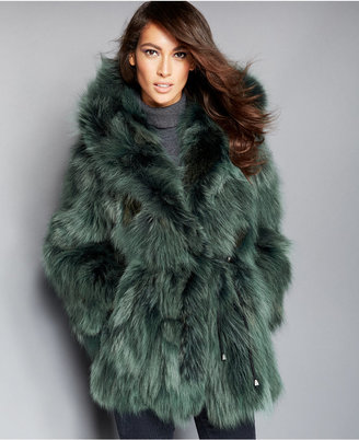The Fur Vault Hooded Coyote-Fur Parka $2,795 thestylecure.com
