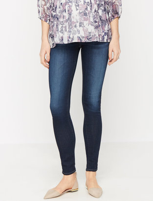Ag Jeans Secret Fit Belly Stella Skinny Maternity Jeans $215 thestylecure.com