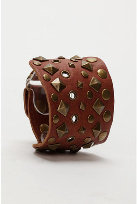 Urban Outfitters Studded Leather Bracelets