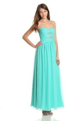 Max & Cleo Women's Strapless Gown