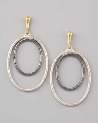 Gurhan Double-Hoop Earrings