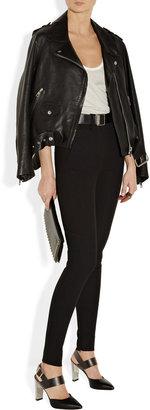 Marni Leather slingbacks