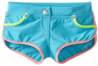 Seafolly Big Girls' Roller Girl Boardie Swim Short
