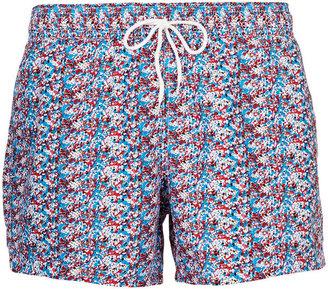 Topman Paint Splat Swim Shorts