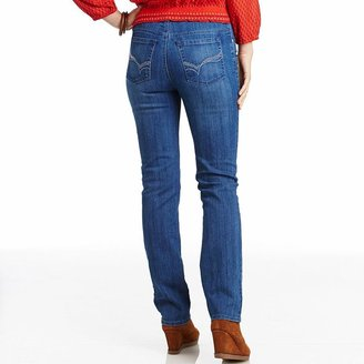 Gloria Vanderbilt amanda embellished tapered jeans - women's