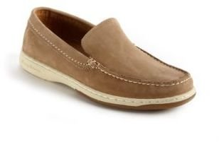 Tommy Bahama Alexander Suede Venetian Slip-On Boat Shoes