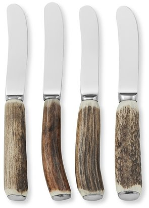 Williams-Sonoma Antler Cheese Spreaders, Set of 4