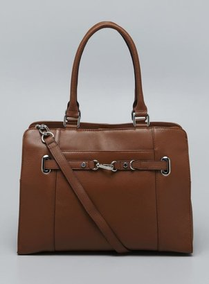 Calvin Klein Two Handle Leather Tote
