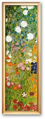 """Art.com Flower Garden (detail)"""" Framed Art Print by Gustav Klimt"""