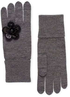 Kate Spade Magnolia plaza knit gloves