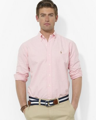 Polo Ralph Lauren Classic Oxford Cotton Sport Shirt - Regular Fit