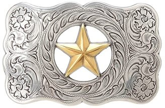 M&F Western Star Buckle (Silver/Gold) Belts