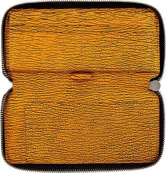 3.1 Phillip Lim Copper Textured Leather Pashli Wallet