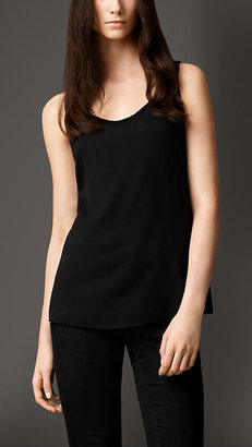 Burberry Stretch-Silk Crêpe Vest