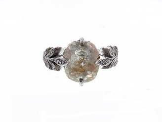 Cathy Waterman Fine Rustic Diamond Leafside Ring - 4.63cts