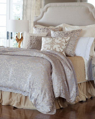 Horchow Lili Alessandra King Jackie Jacquard Duvet Cover