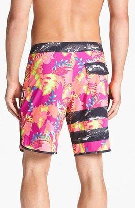 Hurley 'Phantom 30 Block Party Flammo' Board Shorts