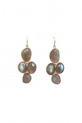 Elle + Cie Labradorite chandelier earrings