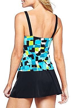 JCPenney Jamaica Bay® Framed Peasant Tankini Swim Top or Skirt