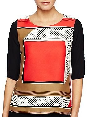 Mng by Mango® Colorblock Blouse