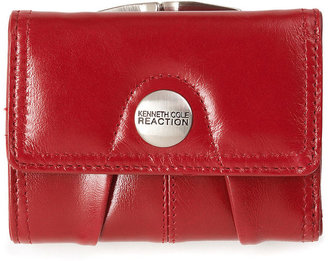 Kenneth Cole Reaction Wallet, Button Up Flap Multifunction
