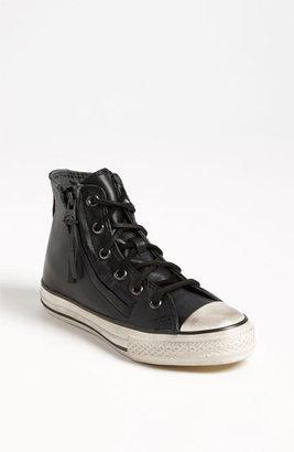 Converse by John Varvatos 'Double Zip' High Top Sneaker (Toddler, Little Kid & Big Kid) Black 1.5 M