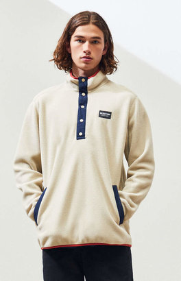 Burton Taupe Hearth Polar Fleece Pullover