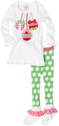 Mud Pie Baby-girls Infant Ornament Tunic and Leggings