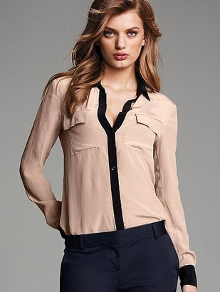Victoria's Secret Silk Shirt