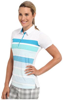adidas Novelty Bold Stripe Polo