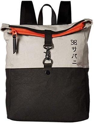 Sherpani Nau Vertical Messenger Bag (Stone) Messenger Bags