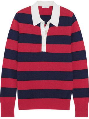 Equipment Deandra striped cashmere top