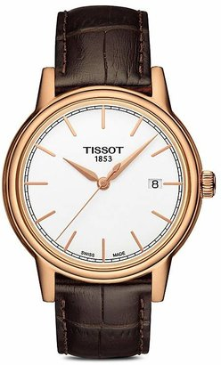 Tissot Carson Watch, 40mm $375 thestylecure.com