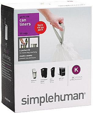 Simplehuman Code K Trash Can Liners