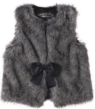 GE Genuine Kids from OshKosh TM Toddler Girls' Faux Fur Vest - Grey