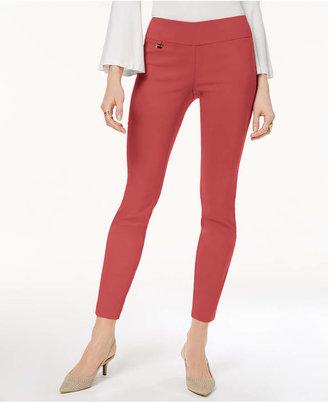 Alfani Tummy-Control Pull-On Skinny Pants, Regular, Short, and Long Lengths