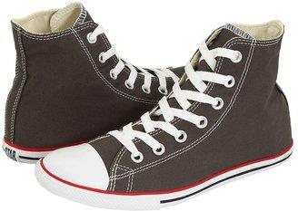 Converse Chuck Taylor All Star Slim Canvas Hi (Charcoal) - Footwear